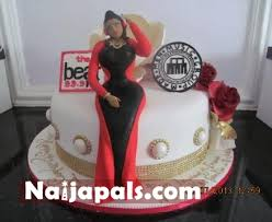 custom made cakes iyanya wishes toolz happy birthday with custom made cake gistmania