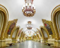 The Opulence A Stunning Look At The Opulence Of Russia U0027s Subway Stations So