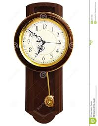 wooden wall clock stock photo image of schedule retro 23512982