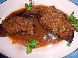 cuisiner du foie recette de foie de boeuf au vinaigre de cidre