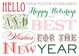 Happy New Year Business Card 19 Best Business Holiday Cards Images On Pinterest Business