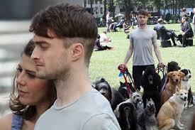 daniel radcliffe new haircut on set of u0027trainwreck u0027 mirror online