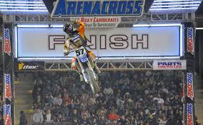 motocross racing 2014 arenacross dirt bike race speeds into baltimore arena