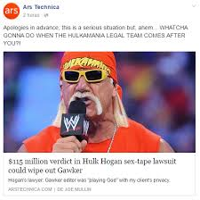 Sex Tape Meme - not even ars technica is shilling for them anymore hulk hogan s