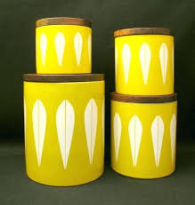 yellow kitchen canisters yellow canister set great style kitchen canisters retro in