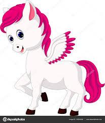 imagenes de unicornios en caricatura caricatura lindo unicornio archivo imágenes vectoriales