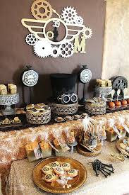 Steampunk Decorations 78 Best Back In Time For Murder Murder Mystery Party Images On
