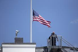 Flying The Flag At Half Staff How To Fly Flags On Flag Day During National Mourning Chicago