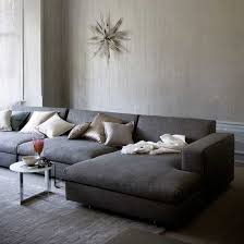 sofa with wide chaise extra wide sectional sofa with regard to cozy chaise bakumatsu info