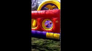 30ft backyard obstacle course rental in baltimore maryland mr