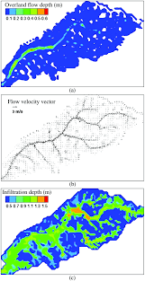 numerical modeling of rainfall generated overland flow using