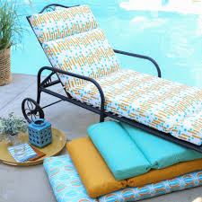 Yellow Chaise Lounge Cushions Outdoor Cushions On Hayneedle Patio Furniture Cushions
