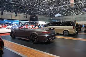 mansory cars mansory u0027s 2017 geneva stand is anything but subtle