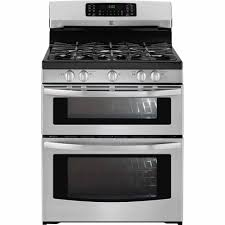 kenmore 78043 5 9 cu ft double oven gas range stainless steel