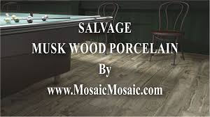 South Cypress Wood Tile by Salvage Musk 6 X 40