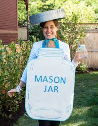 Mason Jar Halloween Costume Easy Diy Halloween Costume Idea For
