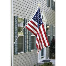 Flag Pole Wall Mount 6 U0027 Flag Pole With Eagle 81829 Flags At Sportsman U0027s Guide