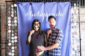 baby shower photo booth ideas coed baby shower ideas popsugar