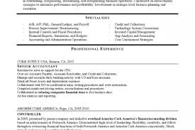 Accounting Manager Sample Resume by Cpa Manager Resume Reentrycorps