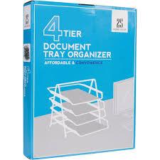 Sl Home Decor Amazon Com 4 Letter Tray Office Desk Organizer Black Office