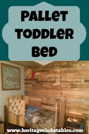 How To Convert A Crib To Toddler Bed by Best 25 Pallet Toddler Bed Ideas On Pinterest Kids Pallet Bed