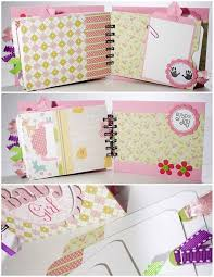 baby girl scrapbook album baby girl scrapbook mini album premade sweet baby girl baby