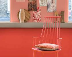 wall paint apricot u2013 the fresh trend in wall design in 40 examples