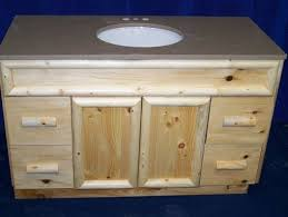 Handmade Bathroom Cabinets - beautiful knotty pine vanity best images about bathroom on