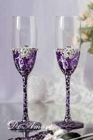 wedding goblets best 25 wedding chagne flutes ideas on diy wedding
