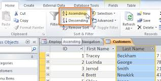 lesson 4 sorting and filtering records sicte 11 database