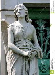 stone angel guardian statue royalty free stock photo image 31799015