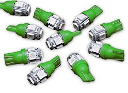 amazon led auto lights amazon com zone tech t10 5 smd led bulb 10 piece premium quality