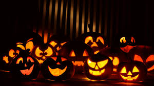 halloween dark background wallpaper pumpkins scary dark hd 5k celebrations halloween