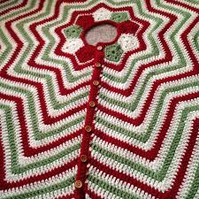 christmas tree skirt tree skirts crochet christmas trees and