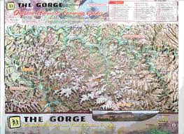 Hiking Maps Red River Gorge Cliffty Wilderness And Natural Bridge State Park