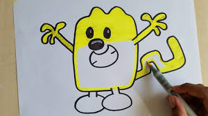 wow wow wubbzy draw coloring pages wubbzy for kids youtube