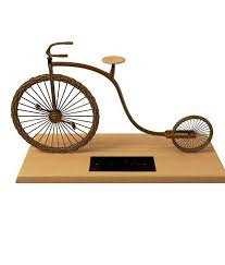 handmade bicycle ornament 3d model 3ds max files free