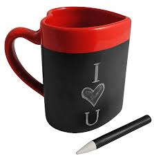 heart shaped mugs heart shaped message mug inhabits cool stuff for your home