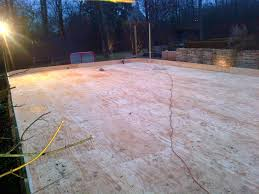 backyard ice rinks can i build a rink over my in ground pool