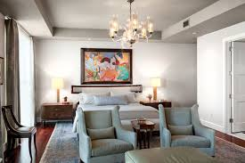 Modern Traditional Furniture by Opposites Attract Modern Art In Traditional Rooms
