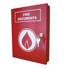 fire alarm document cabinet a4 fire document box fire products direct