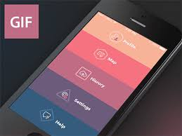 app design inspiration 20 mobile ui animations in gifs the design inspiration