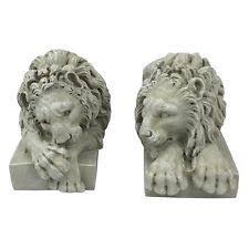 lion statues lion statues lawn ornaments ebay