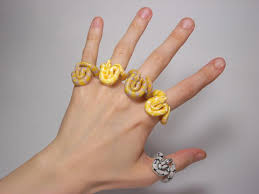 fingers rings images images These cute animal rings hug your fingers jpg