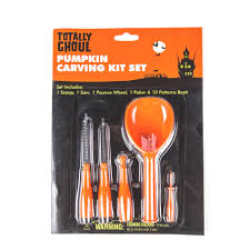 halloween pumpkin carving tools full cutlery sets totally ghoul halloween pumpkin carving kit