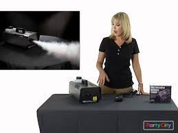 is halloween city part of party city how to set up and use our fog machine for halloween youtube
