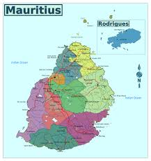 World Regions Map by Large Regions Map Of Mauritius Mauritius Africa Mapsland