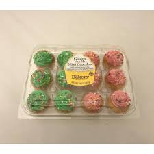 the bakery at walmart mini golden vanilla cupcakes with