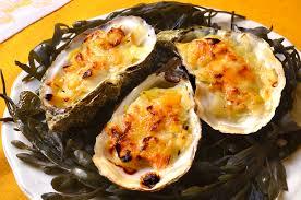 comment cuisiner des huitres huîtres chaudes gratinées à la fondue de poireau ma cuisine santé