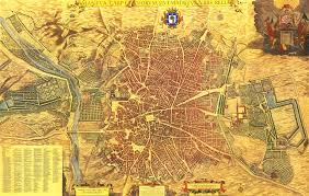 Map Of Madrid Spain by El Madrid De Los Austrias Wikiwand